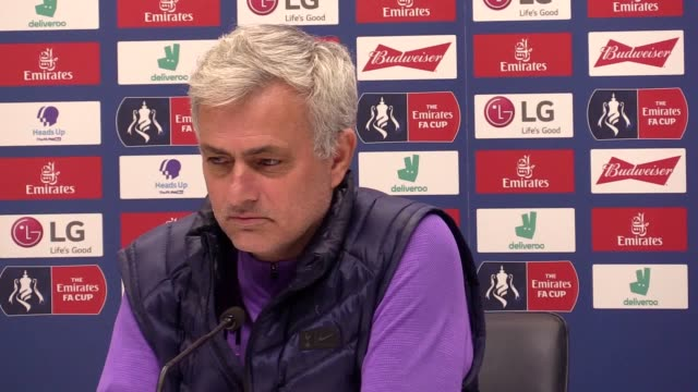 "tottenham head coach jose mourinho is fearing the worst over harry kane's hamstring injury, revealing he is expecting ""bad news"". kane limped off... - human muscle stock videos & royalty-free footage"