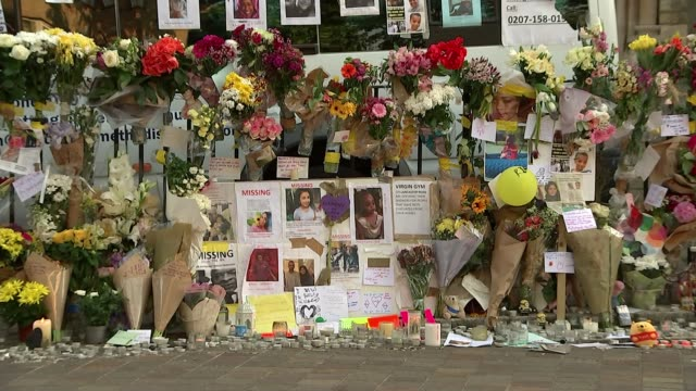 vidéos et rushes de tottenham hotspur ladies footballer on shortlist for global teacher prize file date ext gvs floral tributes for grenfell victims - enseignante