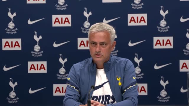 tottenham manager jose mourinho has refused to comment on the club's attempts to re-sign gareth bale. the pa news agency understands the real madrid... - cultivated stock videos & royalty-free footage