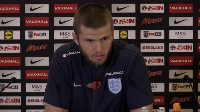 Tottenham midfielder Eric Dier speaks to media ahead of England's friendlies against Germany and Brazil