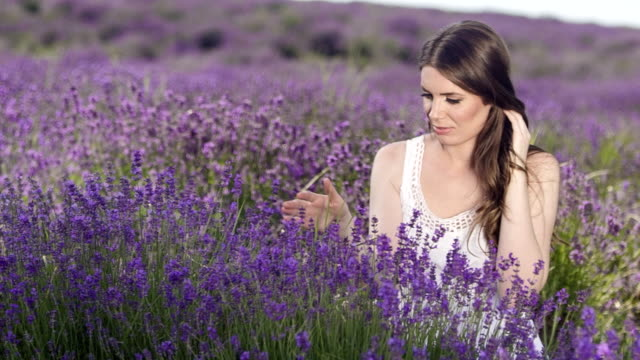 Touch of Lavender Flower