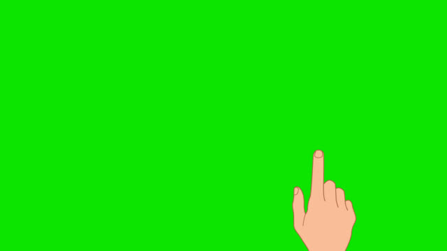 touch screen gestures. chroma green - finger stock videos & royalty-free footage