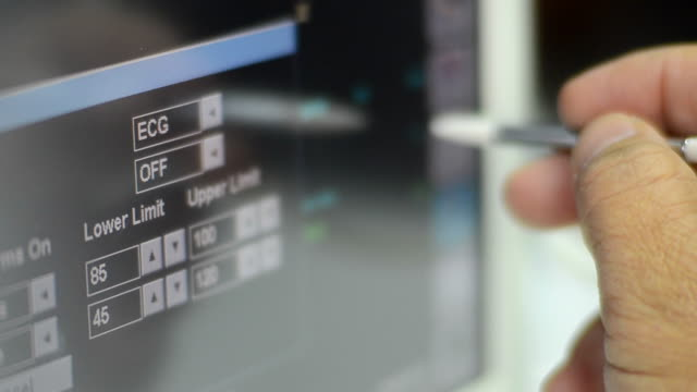 touch screen - biomedical illustration stock videos & royalty-free footage