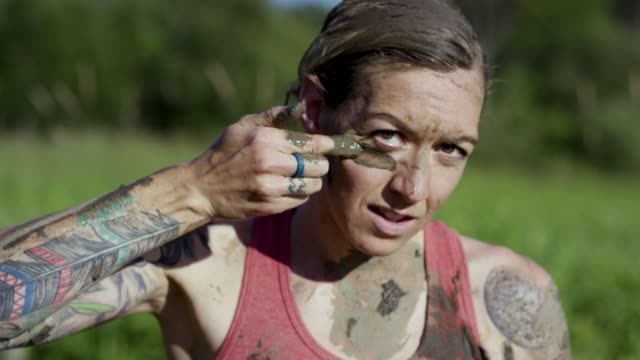 tough mudder - conquering adversity stock videos & royalty-free footage