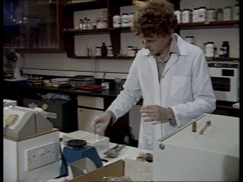 "vídeos de stock, filmes e b-roll de tough new system of drug testing recommended; england: london: dept of environment: cms sebastian coe intvw sof - ""i believe that -- problem"" kings... - sebastian coe"