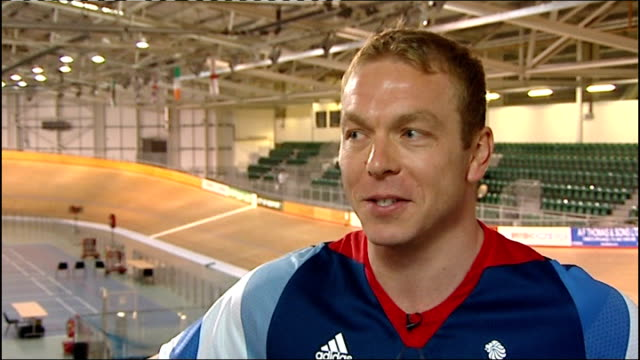 Stage 18 Bradley Wiggins still in yellow jersey ENGLAND INT Sir Chris Hoy interview SOT if it goes to plan I think it will be one of the most...