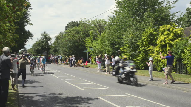 tour de france in england - cycling event stock videos & royalty-free footage