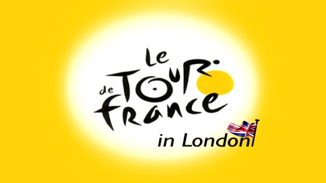 tandem tour of the route part 2 t27040731 england london ext title 'le tour de france in london' and shots of jonathan wills and james cracknell... - tandem stock videos & royalty-free footage