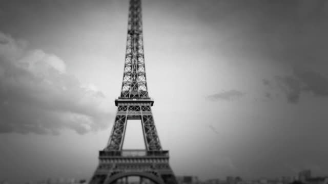 Tour Eiffel Tower vom Trocadero, Paris, Frankreich