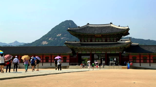 Tour In Gyeongbokgung Palace