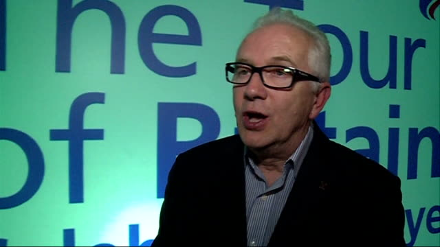 route announced london int mick bennett interview sot - tour of britain stock videos & royalty-free footage