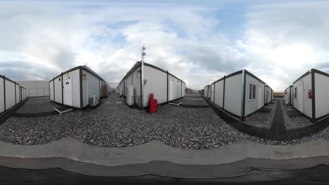 A 360 tour of British Army camp in Iraq where Iraqi and Kurdish fighters are being trained by UK forces