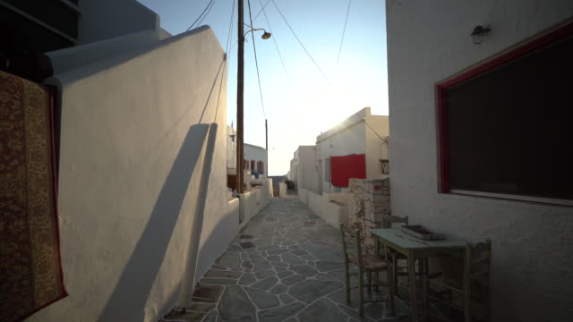 Tour of empty Greek courtyard