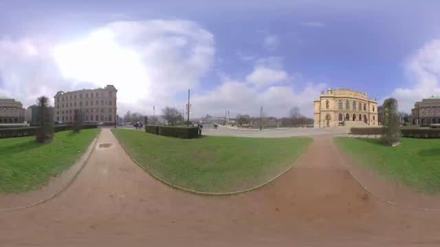 vídeos de stock, filmes e b-roll de tour of jan palach square prague - praga