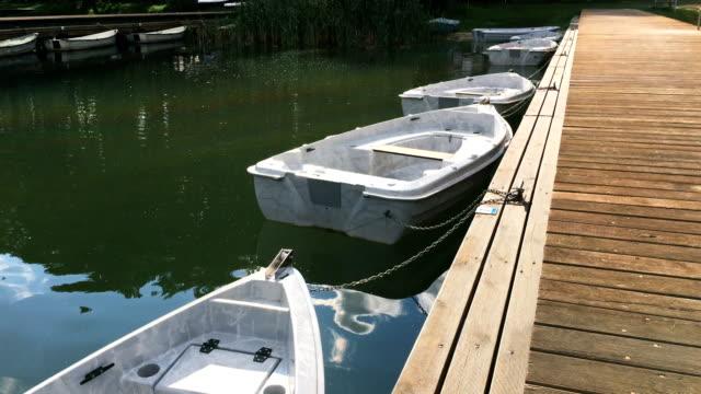 tourboat on lake - tourboat stock videos & royalty-free footage