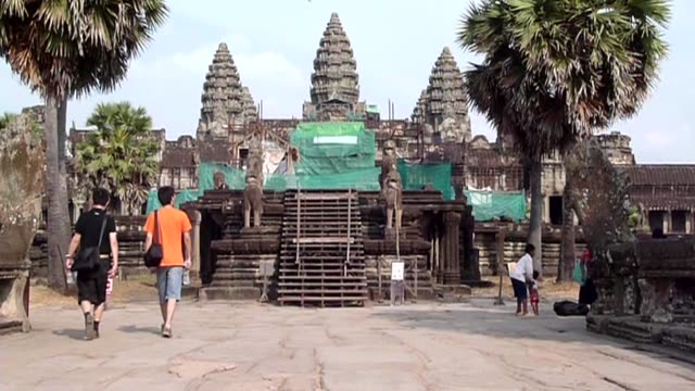 A tourism boom is putting unprecedented pressure on one of the world's most famed historic sites Siem Reap Cambodia