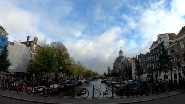 アムステルダムオランダの観光名所 - 環状運河地区点の映像素材/bロール