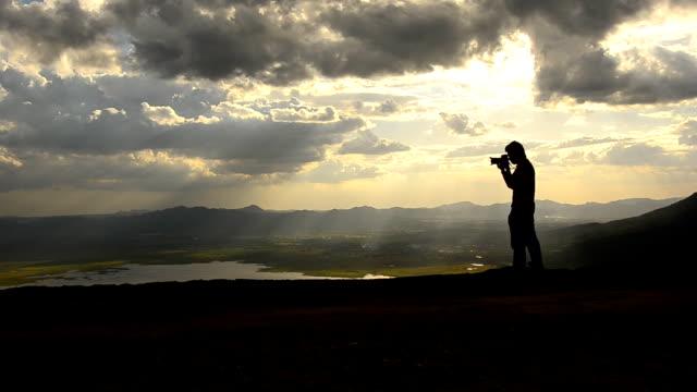 Turista scattare una foto