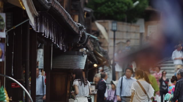 Tourists and Shoppers on Ninen-zaka, Kyoto