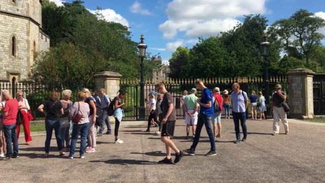 Tourists and wellwishers arrive in Windsor ahead of christening of Archie MountbattenWindsor The son of the Duke and Duchess of Sussex will be...