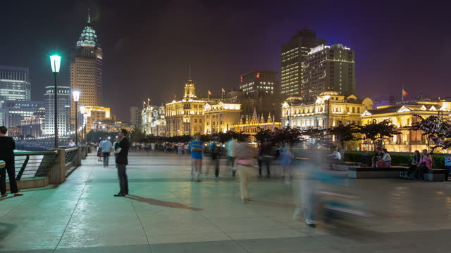 Tourists at the Bund