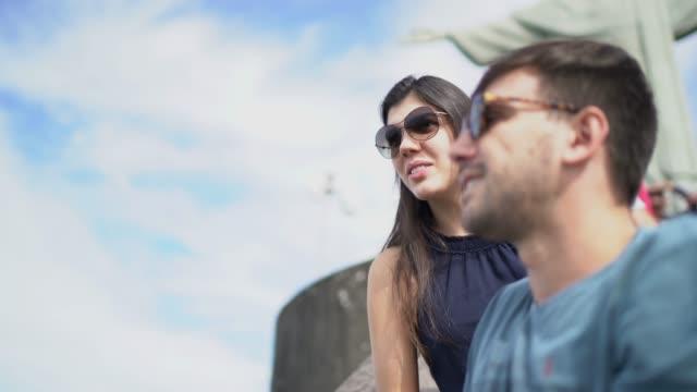 tourists exploring rio de janeiro, brazil - rio de janeiro stock videos & royalty-free footage
