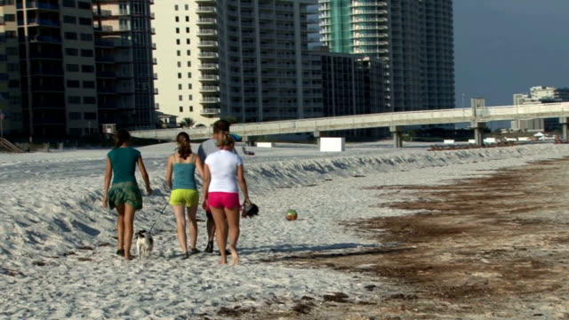 Tourists gawk at tarballs washing up on the shore of this resort community Tarballs Wash Up on Beach on June 13 2010 in Orange Beach Alabama