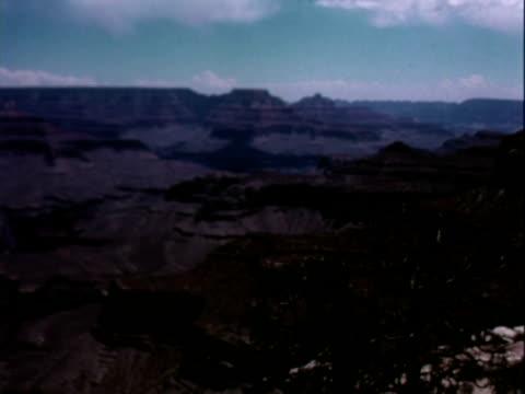 tourists visit grand canyon - 公園保安官点の映像素材/bロール