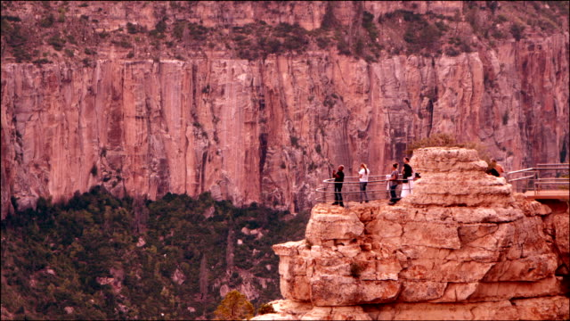 Tourists Visit Grand Canyon