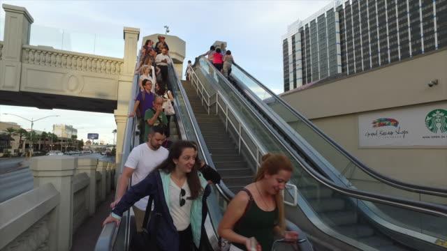 Tourists visiting legal gambling city, Las Vegas.