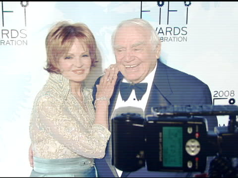 Tova Borgnine and Ernest Borgnine at the Fragrance Foundation Presents 36th Annual FiFi Awards and Celebration at the Park Avenue Armory in New York...