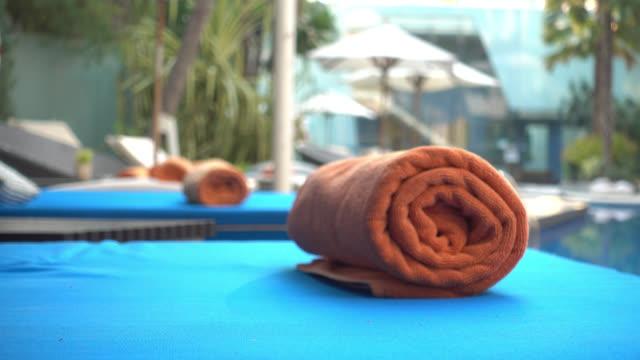 Handtuch mit pool