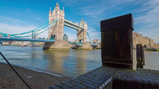 tower bridge in london - tower bridge stock videos & royalty-free footage