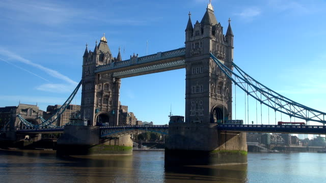 tower bridge - london, england - london bridge england stock videos & royalty-free footage