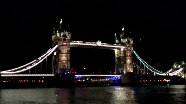 Tower Bridge - London, Timelapse of opening
