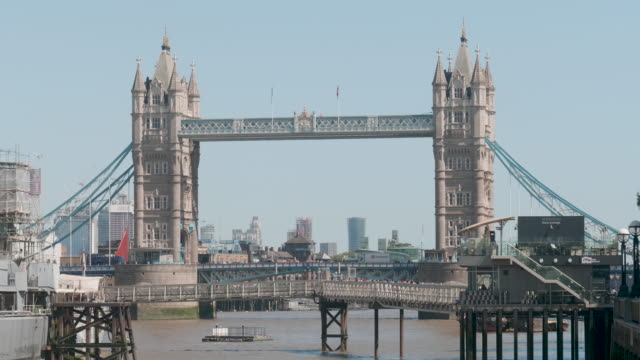 tower bridge - london bridge england stock videos & royalty-free footage