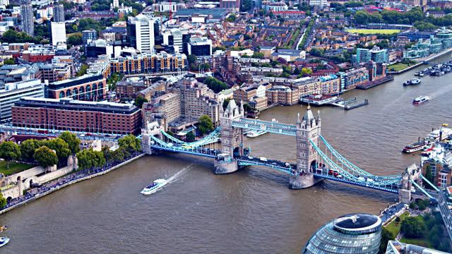 tower bridge. - tower bridge stock videos & royalty-free footage