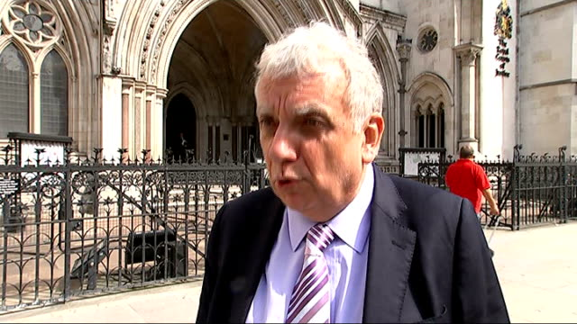 tower hamlets mayor fails to stop election victory challenge england london royal courts of justice ext andy erlam interview sot delighted that the... - セーリングチーム点の映像素材/bロール