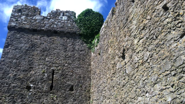 A tower in the fortified town walls.