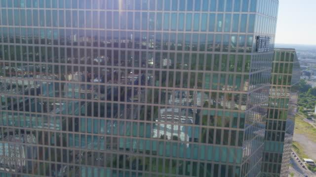 ibm tower münchen wegflug - headquarters stock videos & royalty-free footage