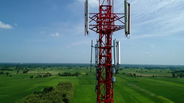 tower mobile - mast stock videos & royalty-free footage