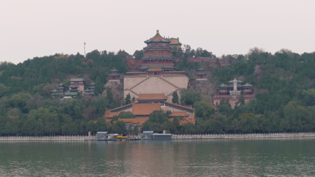 Tower of Buddhist Incense at Summer Palace, Beijing, China