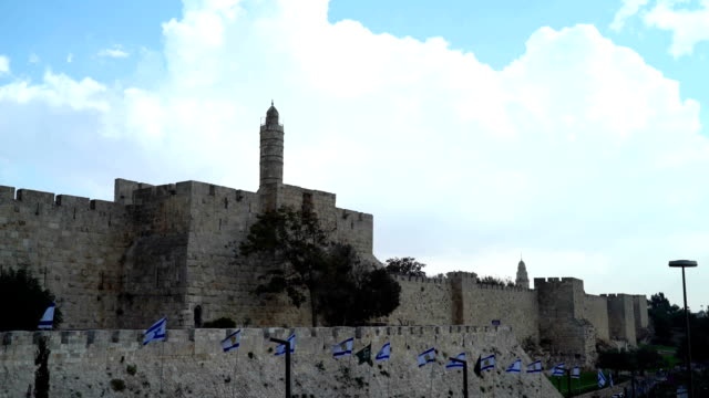 tower of david - psalms stock videos and b-roll footage