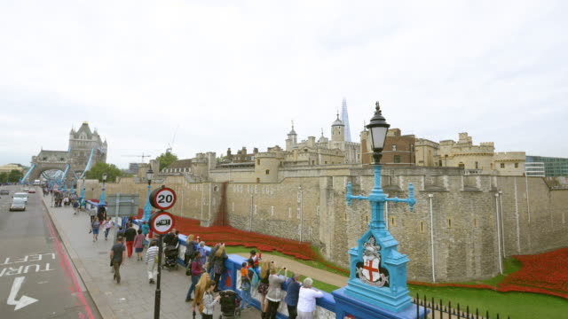 tower of london / united kingdom - tower of london stock videos & royalty-free footage