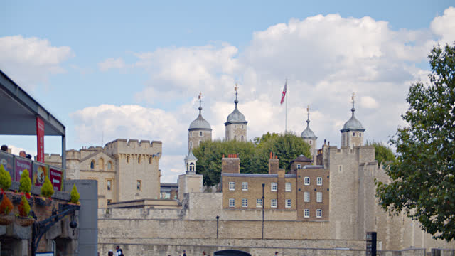 tower of london - arts culture and entertainment stock videos & royalty-free footage