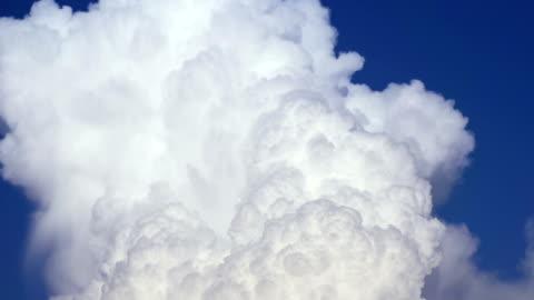 towering cumulus clouds - cumulus cloud stock videos & royalty-free footage
