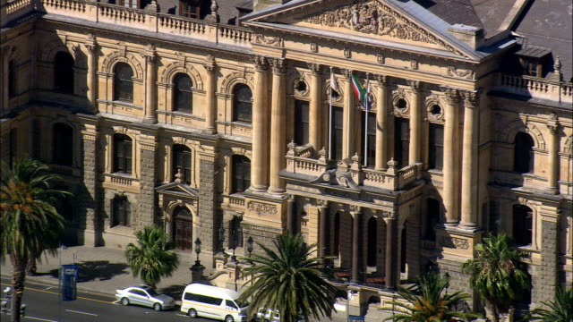 Town Hall  - Aerial View - Western Cape,  City of Cape Town,  South Africa