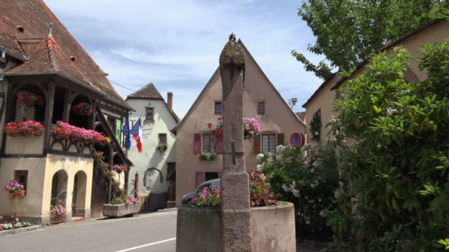 PAN / Town hall, half-timbered house in medieval village