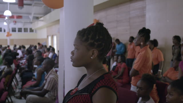 town hall meeting in haiti after 2010 earthquake / the assembly was created to stop violence against women. no audio - town hall stock videos & royalty-free footage