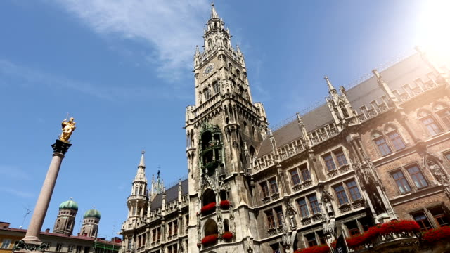Town hall Munich, Time Lapse